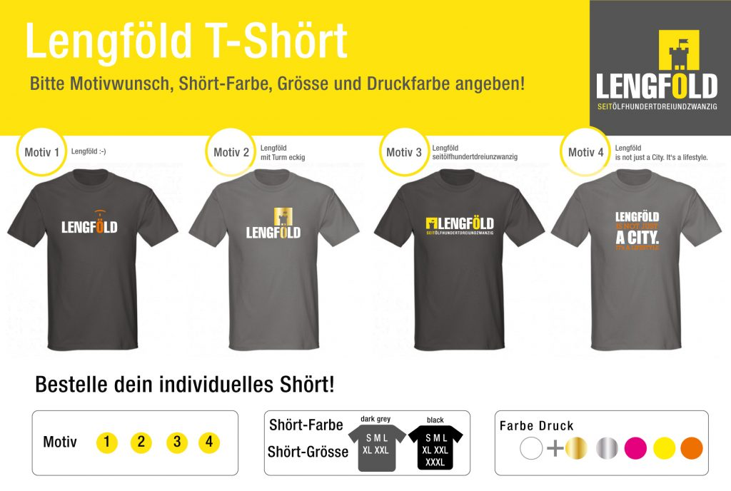 Lengföld Shirtkollektion Herren